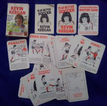 Vintage Collectible football Kevin Keegan card game